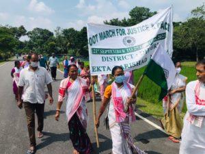 Marche en Inde