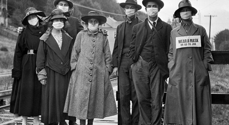archives de la grippe espagnole - Mill Valley, Californie 1918