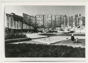 Georges Loiseau, Jean Tribel et Jean-François Parent- Quartier de l'Arlequin, Villeneuve de Grenoble, 1968-1973, Vue d'ensemble © Archives Jean Tribel