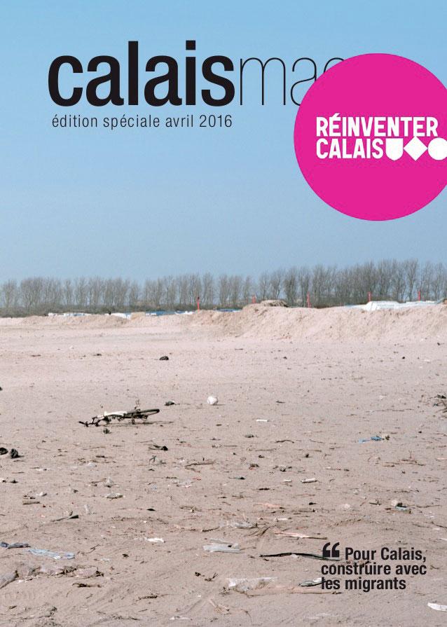 la couverture du Calais Mag.