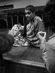Gayatri Chakravorty Spivak au Goldsmiths College; CC BY-SA 3.0; auteur: Shih-Lun Chang