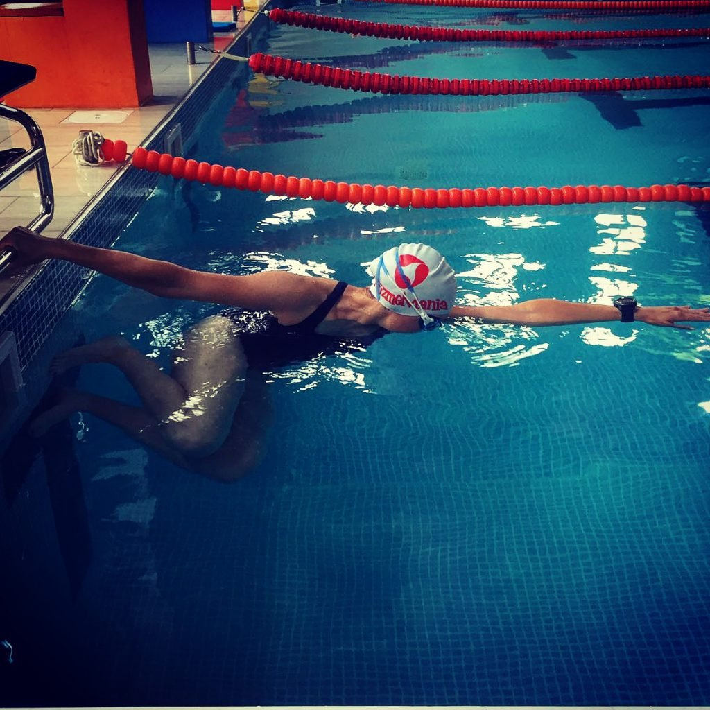 coraline chapatte triathlon pool swimming
