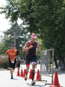 coraline chapatte triathlon run