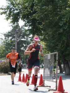 coraline chapatte triathlon run