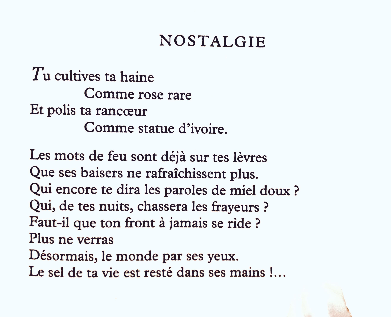 Annette Mbaye Derneville Des Avenues Et Des Fleurs