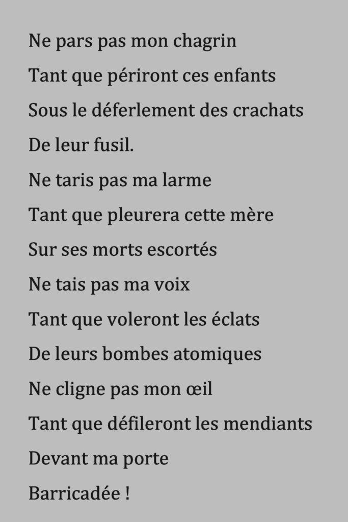 Poésie Amour Des Avenues Et Des Fleurs