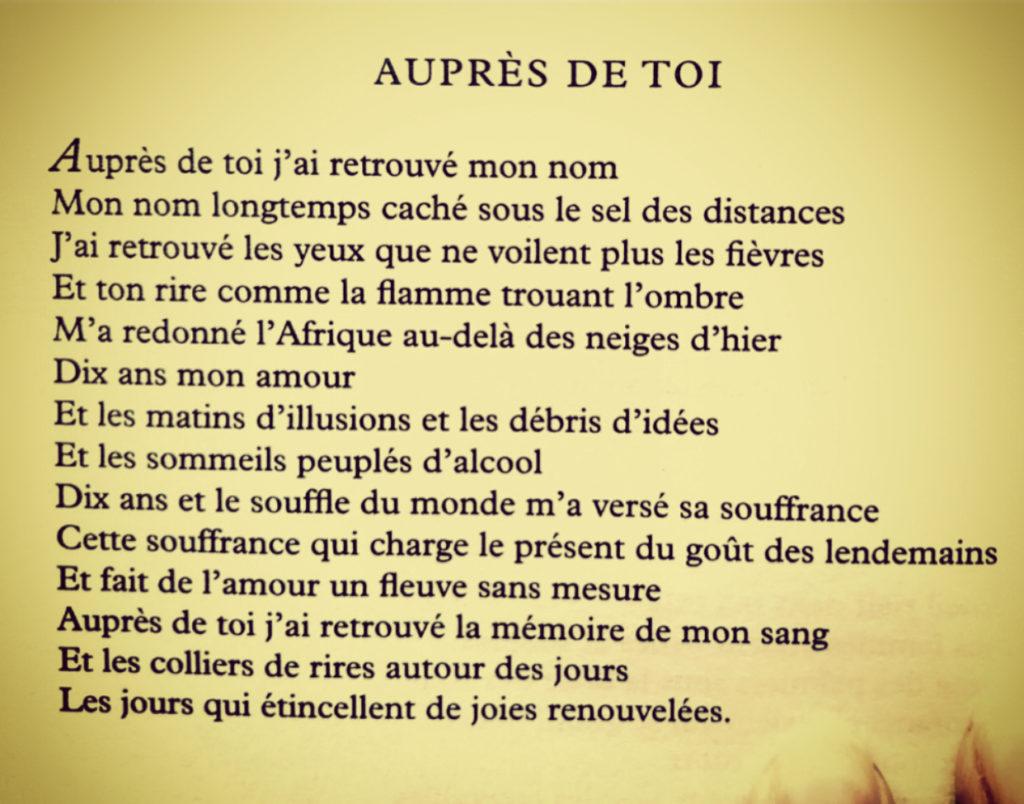 Le Poète David Diop Figure Emblématique De La