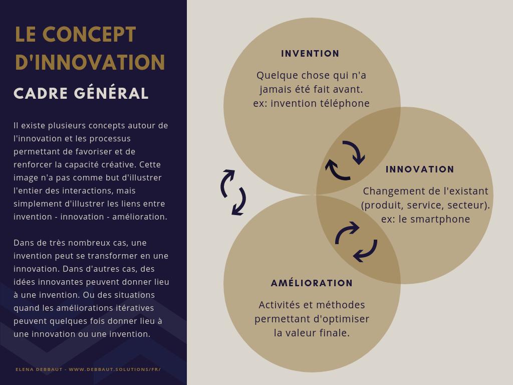 le concept de l'innovation dans un cadre général selon Elena Debbaut