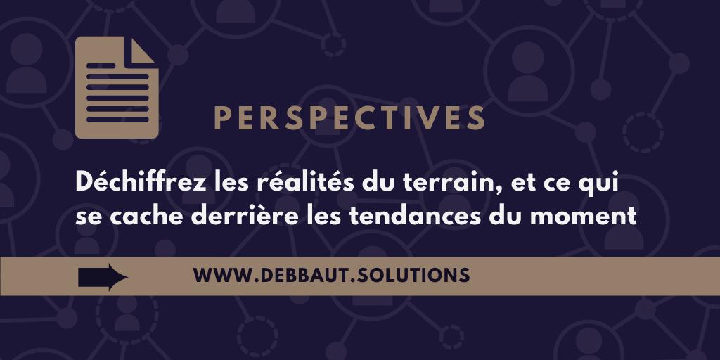 Déchiffrez les réalités du terrain, et ce qui se cache derrière les tendances du moment avec Elena Debbaut - conseil restructuration entreprises et projets en difficulté