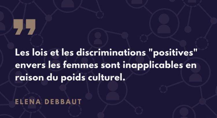 Le processus d'intégration des femmes dans les entreprises en Suisse, par Elena Debbaut
