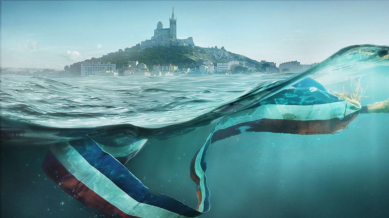 Quelle meilleure façon d'illustrer «Marseille»que le naufrage de l'écharpe tricolore?