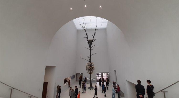 C'est beau un musée qui naît