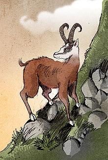 Dahu par Philippe Semeria, Wikipedia