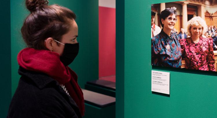 Exposition au Musée historique de Berne sur les 50 ans du suffrage féminin