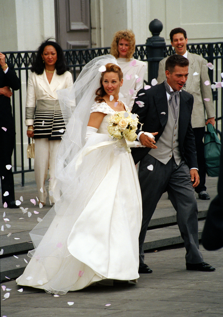jill goodacre wedding the image kid has it