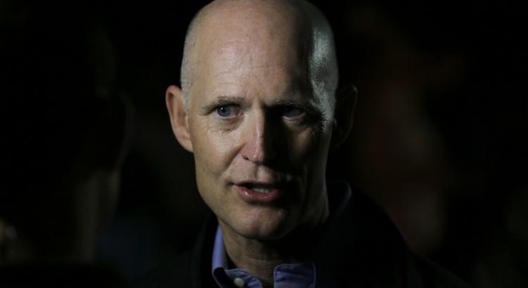 Rick Scott, gouverneur républicain de Floride. « - 237373893-750x410