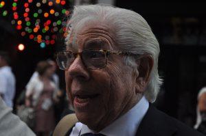 Carl Bernstein, journaliste du Watergate, à proximité du centre de convention ©Stéphane Bussard