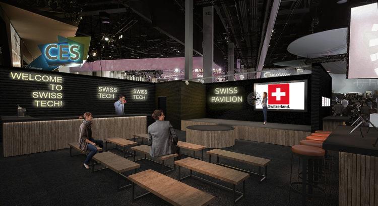 Une délégation suisse à Las Vegas, une première! Et le début d'une promotion internationale de nos start-up…