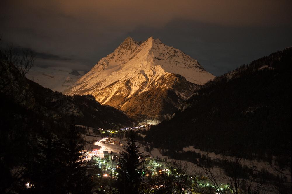 Val d'Hérens et Dents de Veisivi. Test dans le cadre du projet 13 étoiles au sommet