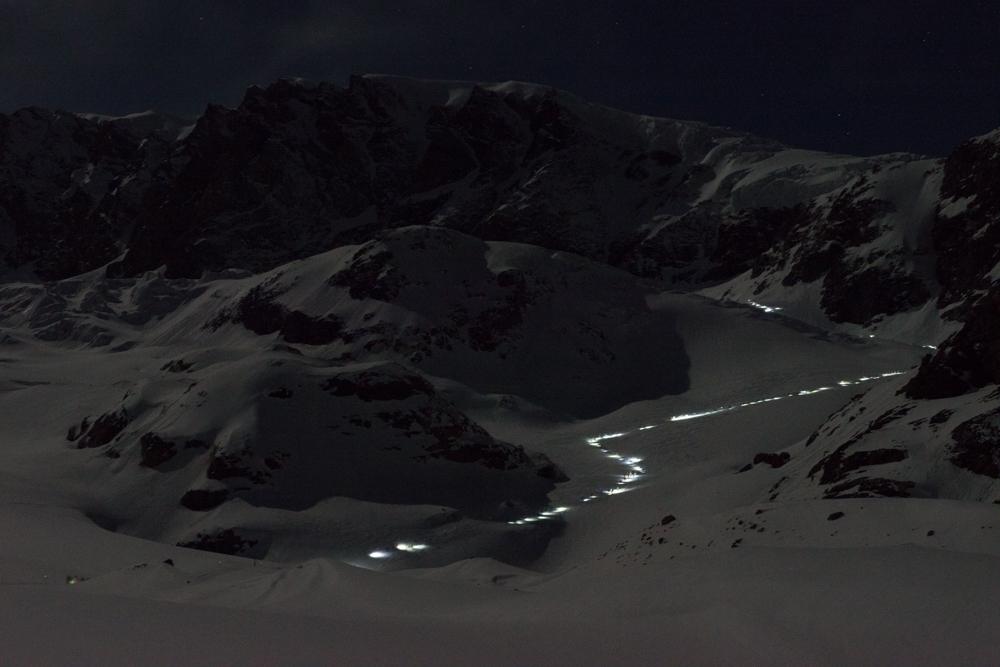 Patrouille des Glaciers course Z1 Zermatt - Verbier