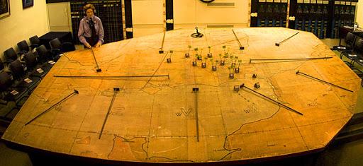 Cellule stratégique et war room