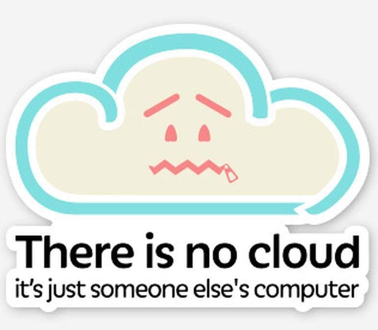 le cloud ou l'ordinateur d'un autre