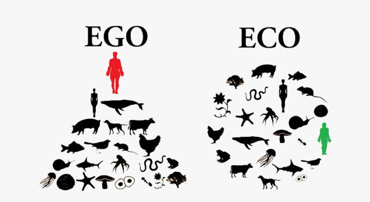 EGO vs ECO (egoísmo comparado con ecologismo)
