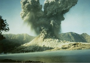 rinjani explosion 1994