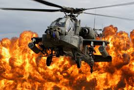 helicopter explosion