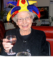 Old-Lady-Drinking-Wine