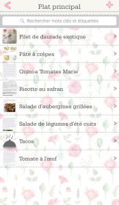 OrganizEat, l'application pour noter ses recettes de cuisine