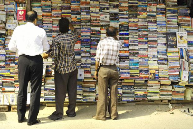 Delhi - librairie en pleine air