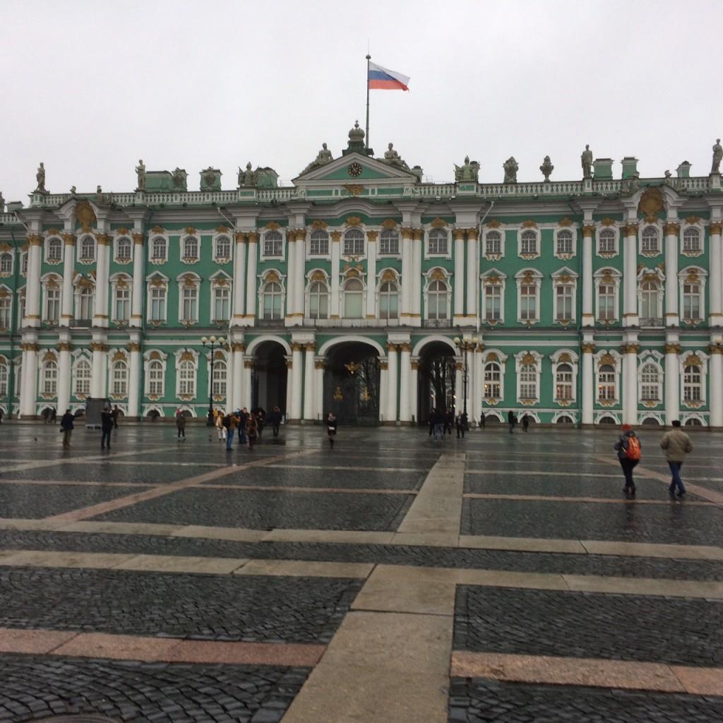 L'Ermitage: le Saint-Pétersbourg que nous avons appris à regarder (photo de l'auteur)