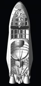 Coupe du vaisseau