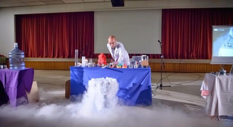 Science Show à Athènes.