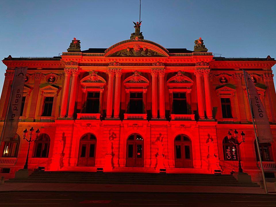 Alerte Rouge - Grand théâtre de Genève
