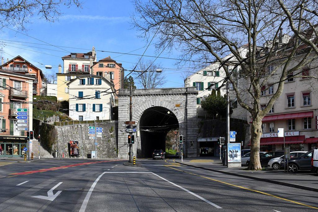 Place du Tunnel Lausanne