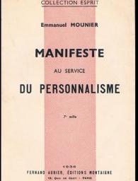 Pour une économie au service du bien commun: et si on relisait Emmanuel Mounier?