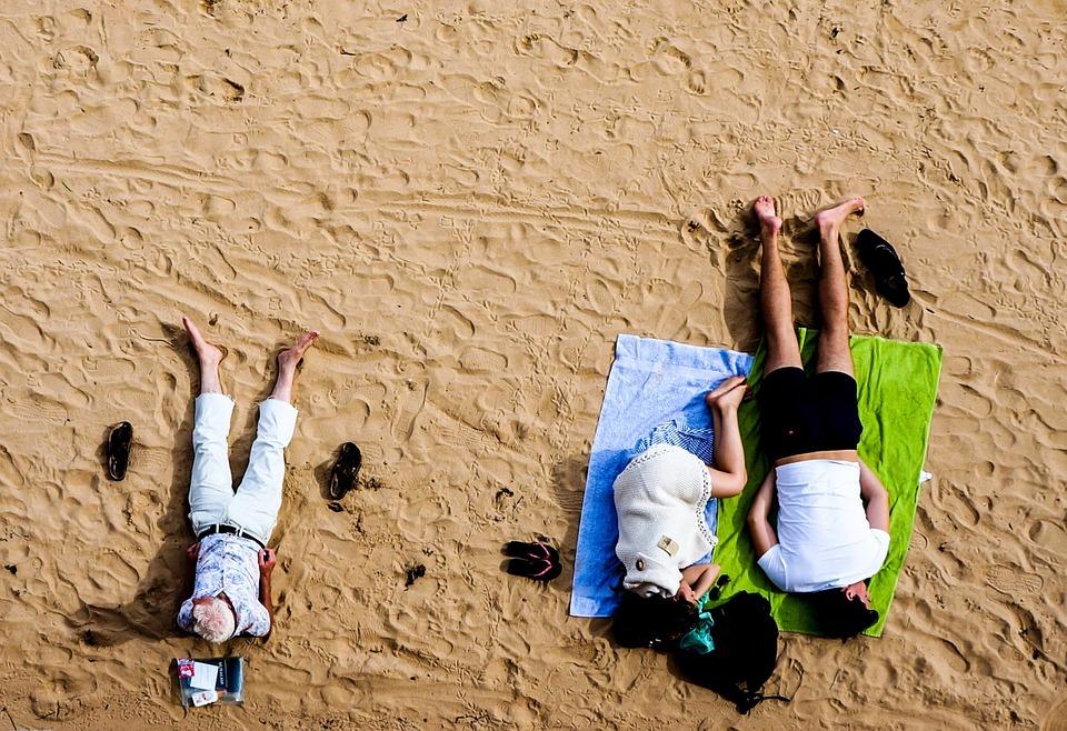 Serviettes de plage: défense d'entrer!