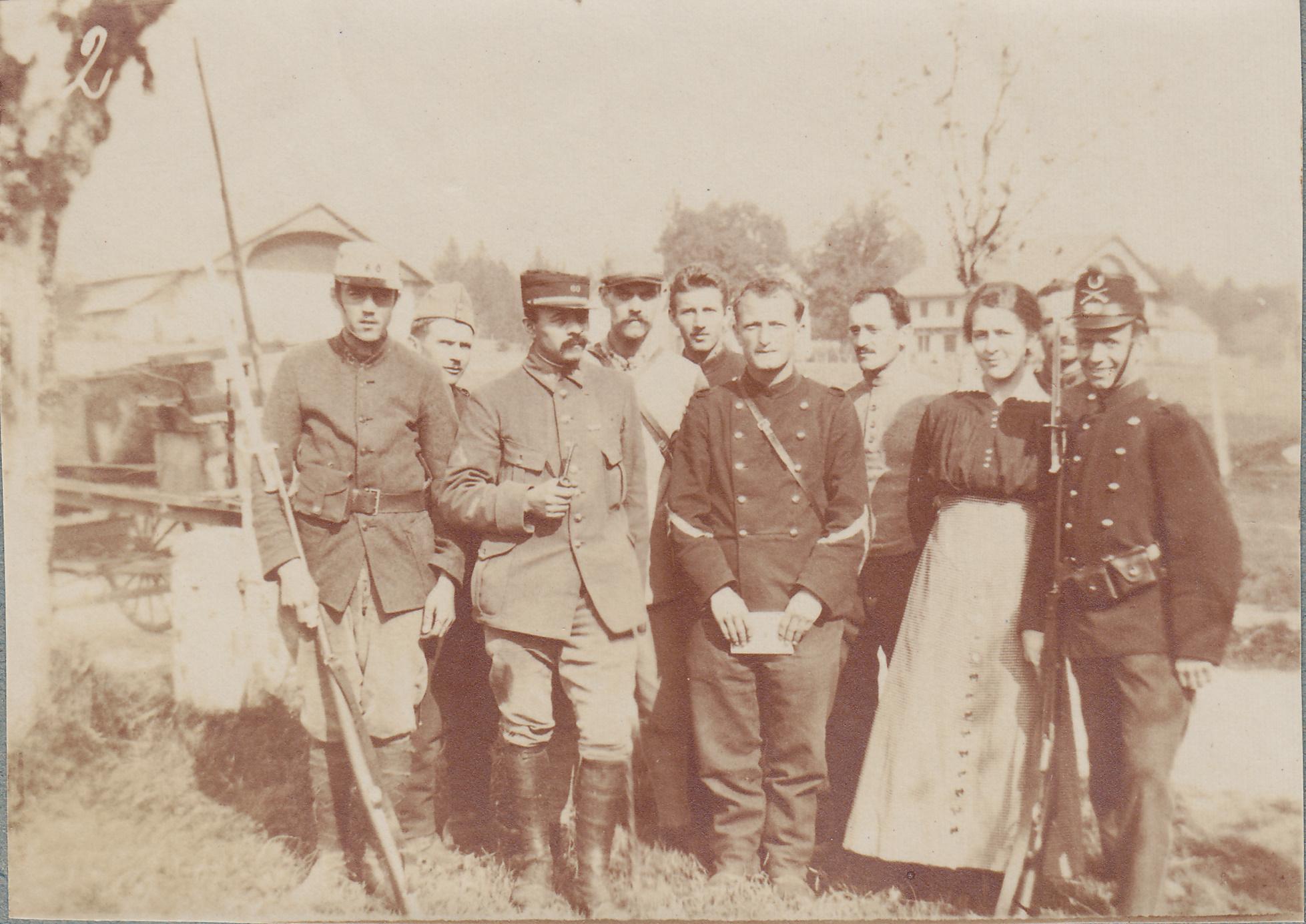 Genève et ses frontières à l'examen de l'année 1917