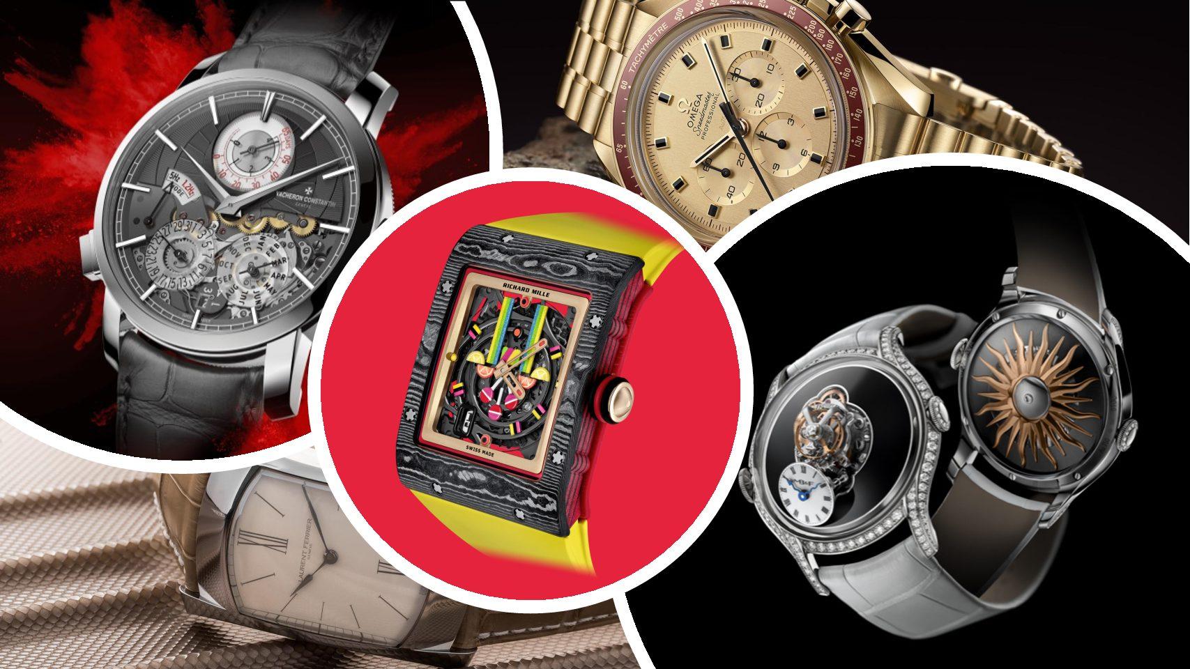 5490e7019c Les plus belles montres lancées cette année. Un choix totalement subjectif  et assumé.