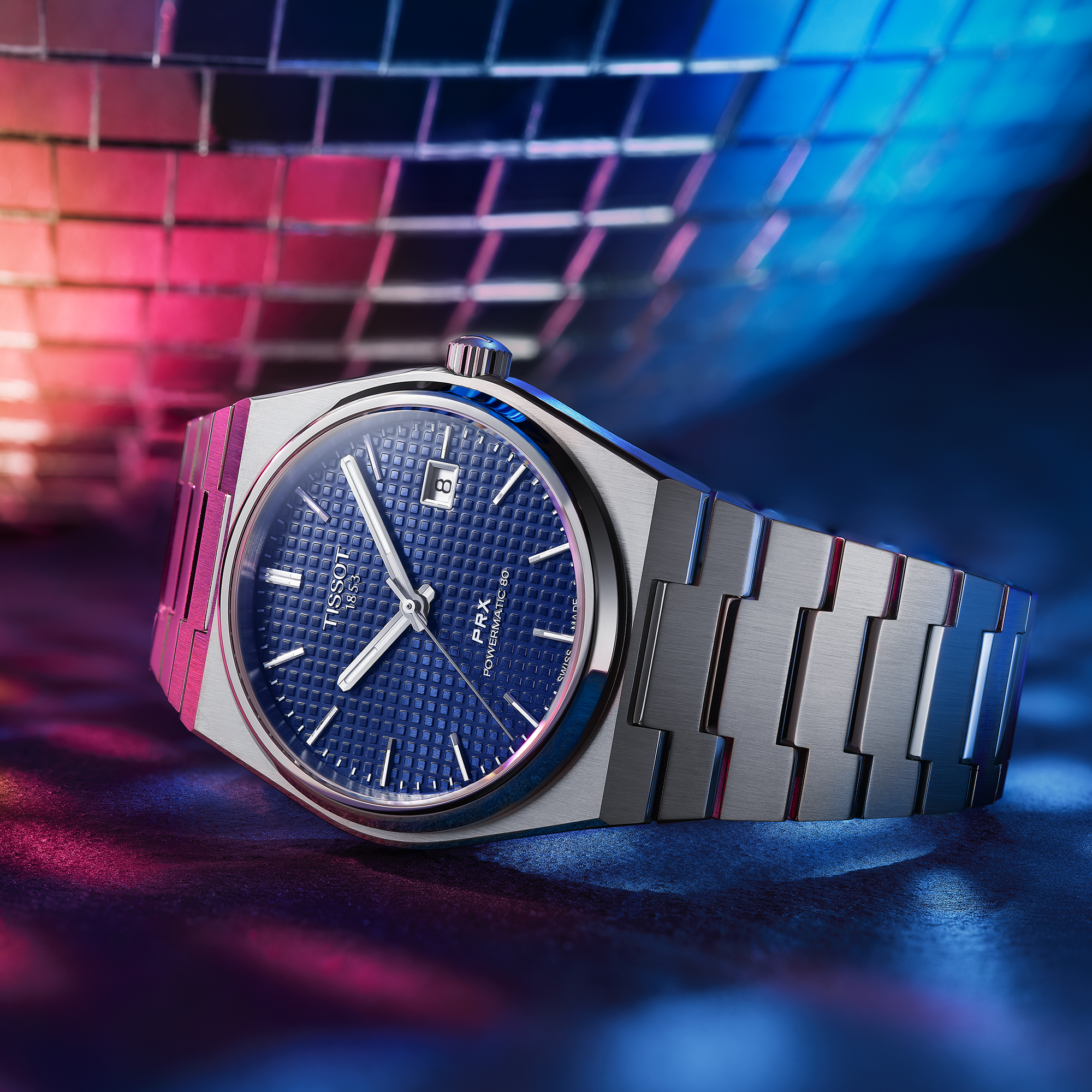 Une montre suisse branchée aux codes vintage et accessible : Tissot PRX