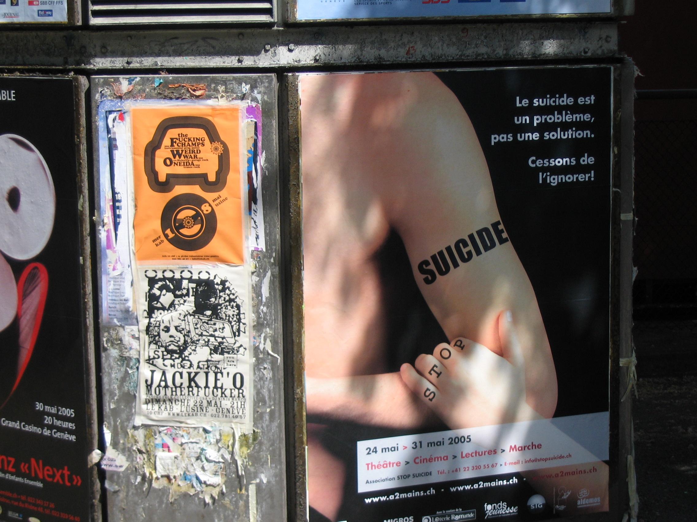 Pourquoi parler de suicide dans l'espace public ?