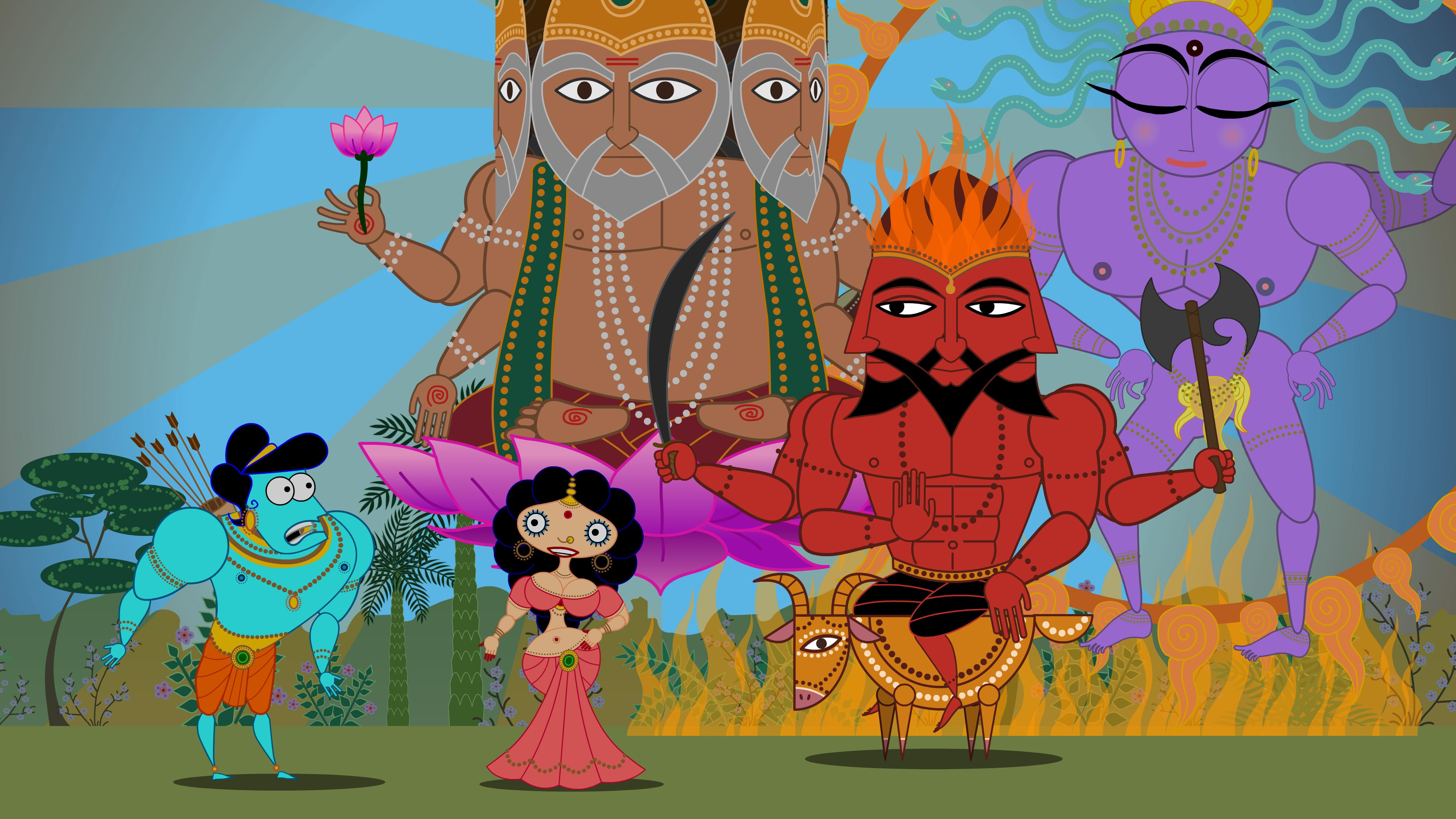 Le Ramayana du photographe Vasantha Yogananthan