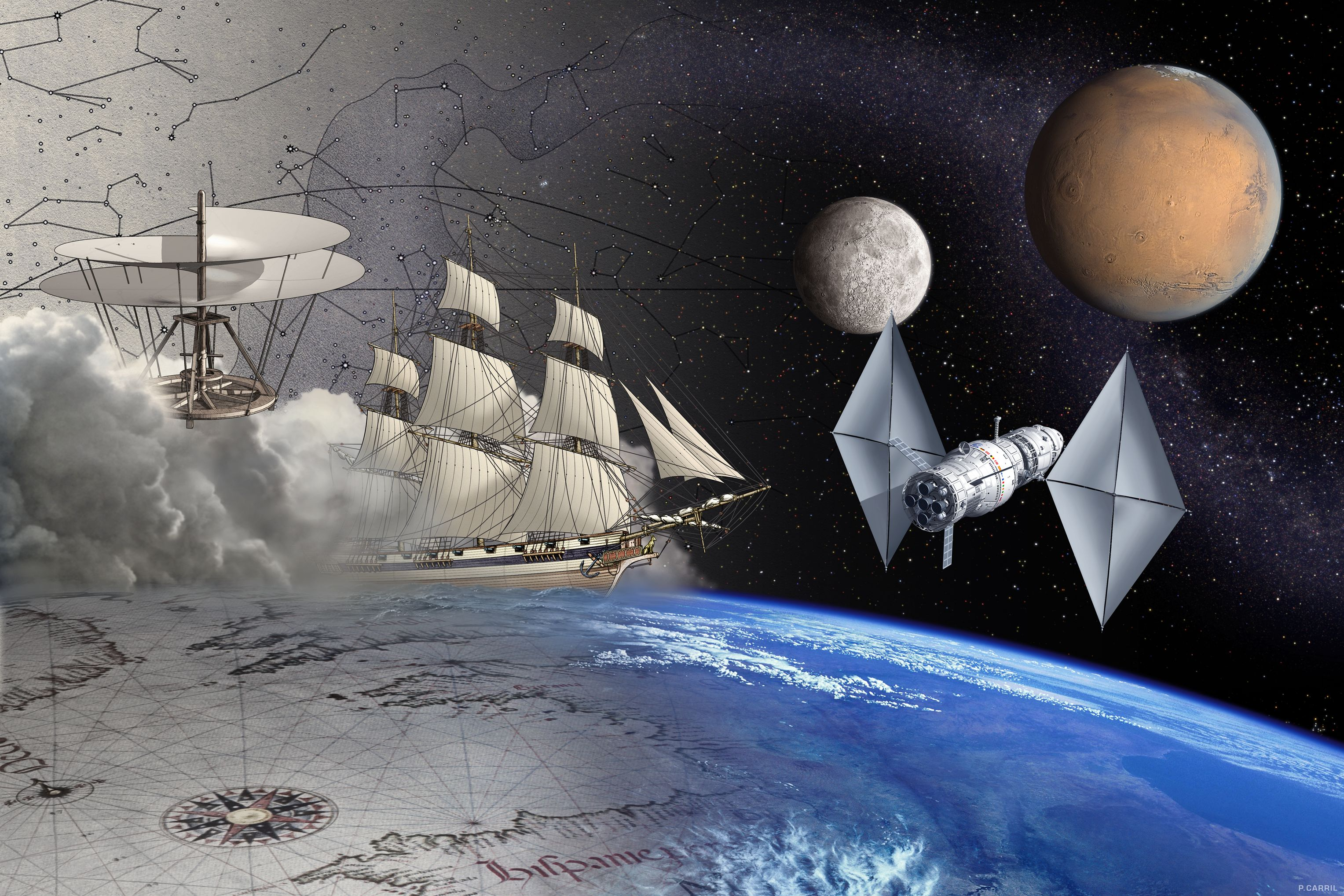 L'appel de l'espace profond et la problématique du Voyage