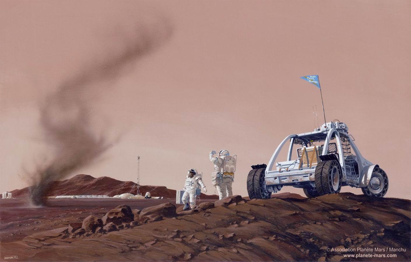 Mais que feront donc les hommes sur Mars ?