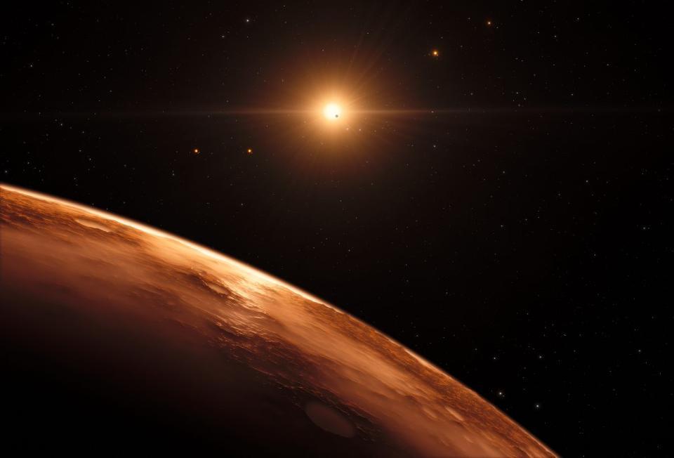 L'espoir de vie porté par les planètes de l'étoile Trappist-1 est extrêmement ténu