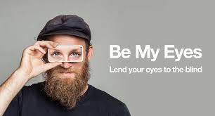 J'ai pu aider une personne malvoyante à l'autre bout du monde, grâce à l'application BeMyEyes