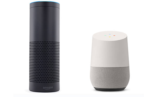 40'000 «skills» pour l'enceinte connectée Echo d'Amazon et 1 million d'«actions» pour Google Home
