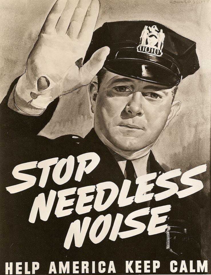 Villes, faites du bruit (?)